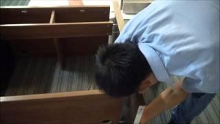 Reception Desk QT-108 Installation Instructions Part 2