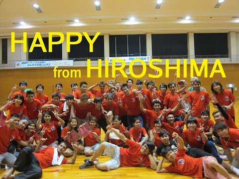 Pharrell Williams - Happy♪ from HIROSHIMA Japan Wellness Sports College