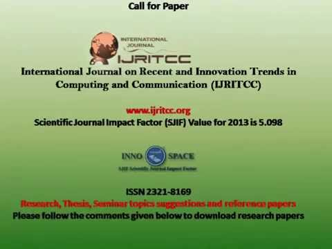Free Research Papers, Thesis, Seminar topics suggestions and reference papers
