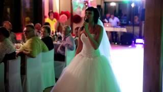 Песня невесты, сюрприз жениху. Роланд и Валерия
