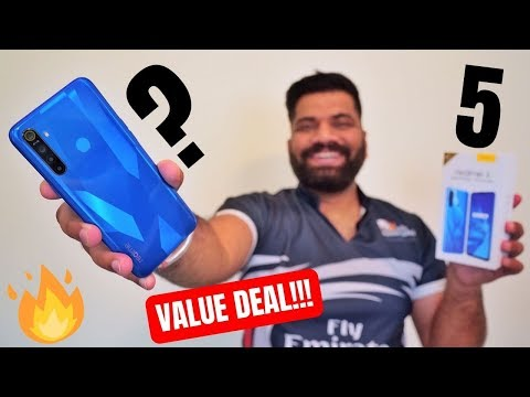 Realme 5 Unboxing & First Look - Best Value for Money?🔥🔥🔥