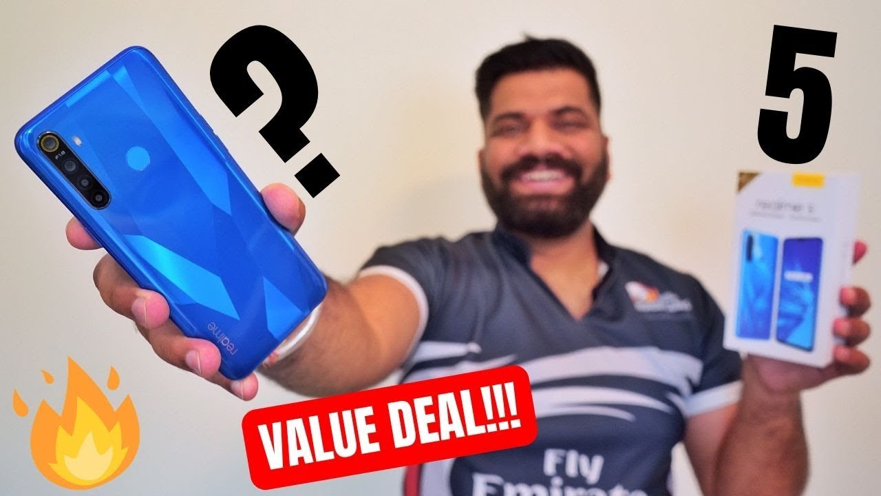 Realme 5 Unboxing & First Look - Best Value for Money?????????????