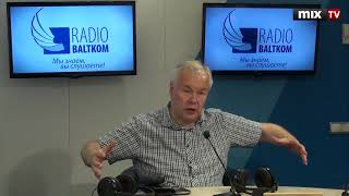 "Дирижер Янис Пуриньш в программе ""Утро на Балткоме"" #MIXTV"