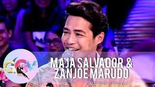 GGV: Zanjoe Marudo admits that Angelica Panganiban is girlfriend material