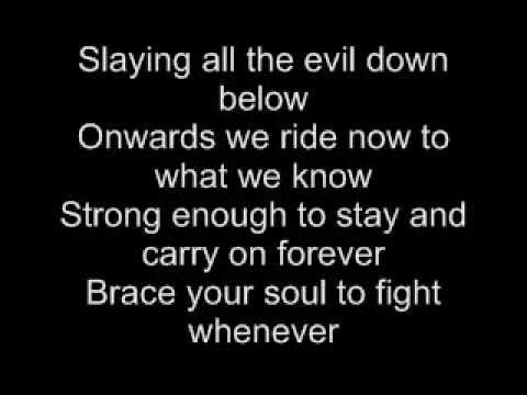 Dragonforce-Lost Souls In Endless Time lyrics