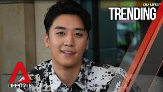 SEUNGRI loves Singapore, chilli crab, BTS and BIGBANG reunions | CNA Lifestyle