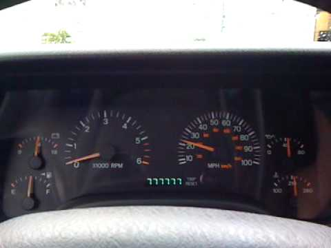 jeep cherokee gauge test jeep cherokee gauge test