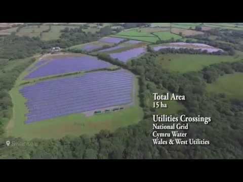 Gelliwern Isaf Solar Farm - Photovoltaic Farm by RenEnergie