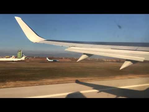 FB973 Take off Sofia Airport