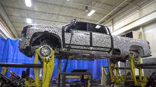 2020 Chevrolet Silverado HD Four Post Durability Testing