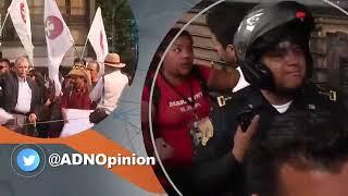 PARA EL ANÁLISIS  INFILTRADOS EN MANIFESTACIONES /Encuentro de Opinión con Lilia Arellano / ADN 40