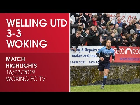 Welling United 3-3 Woking | Match Highlights