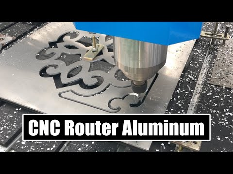 2020 Best CNC Router Machine Cutting Aluminum