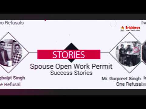Join Your Spouse in Canada on Open Work Permit.
