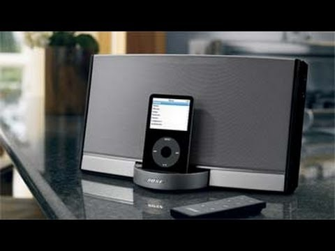 Bose Sound System >> Bose Portable Sound Dock Review Speakers | Digital Music System | iPhone & iPod Player - YouTube
