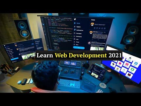 🔴 Learn Web Development As An Absolute Beginner (2021)