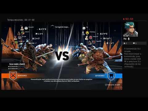 For Honor invasão com serpente gigante e  martelo de Thor