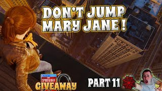 DON& 39 T JUMP MARY JANE INTENSE O ► Marvel Spider Man PS4 Elgato HD60 S 🔴 PART 11