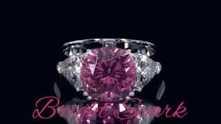 видео Обручальные кольца с драгоценными камнями: рубин или розовый сапфир