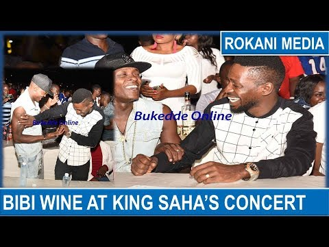 Bobi Wine At King Saha's Biri Biri Concert !!!!