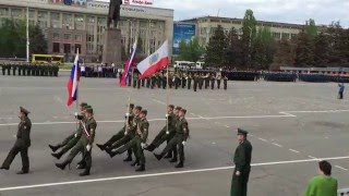 В Саратове проходит генеральная репетиция парада