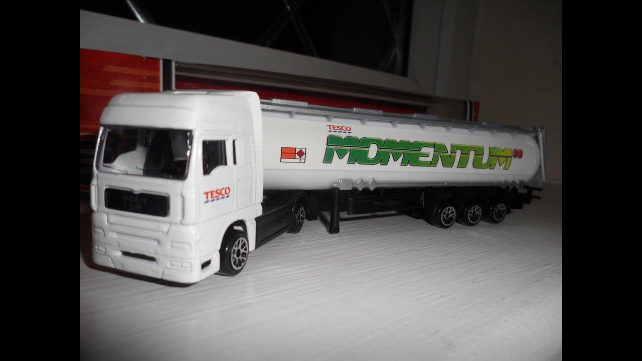 Man Semi Trailer Truck Model Gas Tanker For Momentum 99
