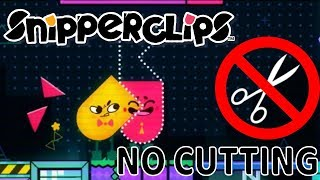 Snipperclips Played Without Snipping