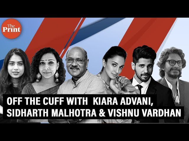 Off The Cuff with Kiara Advani, Sidharth Malhotra & Vishnu Vardhan talking about Shershah and more