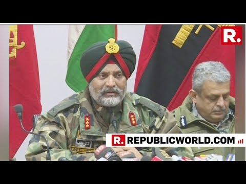 'Pulwama Terror Attack Conspirator Mudasir Eliminated', Confirms Army In A Joint Press Briefing