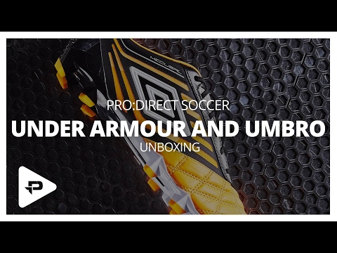 Unboxing: Under Armour ClutchFit Force 3.0 & Umbro Medusae, UX-Accuro & Velocita 3