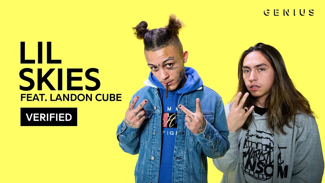 Lil Skies Red Roses Feat Landon Cube Official Lyrics Meaning