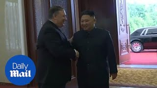 Secretary of State Pompeo and Kim Jong Un hold talks in Pyongyang