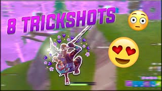 INSANE GLITCH TRICKSHOTS - LIVE Fortnite Trickshotting