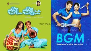 Tamil BGM   Anbe Aaruyire (2005)   Theme of Anbe Aaruyire