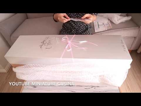 ASMR  UNBOXING TOY REVIEW HAUL HAEUN SUPIA BALL JOINTED  DOLL  DRESS UP | 玉 ジョイントドールのレビュー
