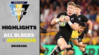 HIGHLIGHTS: All Blacks v Australia (Brisbane)