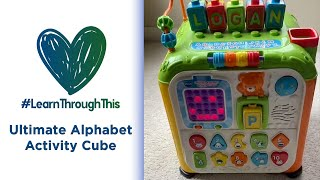 Ultimate Alphabet Activity Cube | #LearnThroughThis with Tiffany