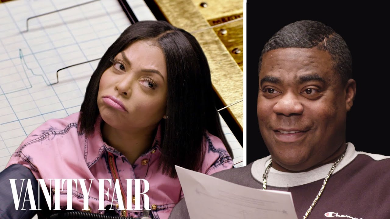 Tracy Morgan & Taraji P. Henson Take a Lie Detector Test