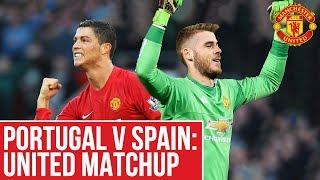 Video Portugal v Spain: Utd Matchup! | World Cup 2018 | Manchester United download MP3, 3GP, MP4, WEBM, AVI, FLV Agustus 2018