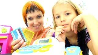 Игры для детей с Машей Капуки: играем в магазин