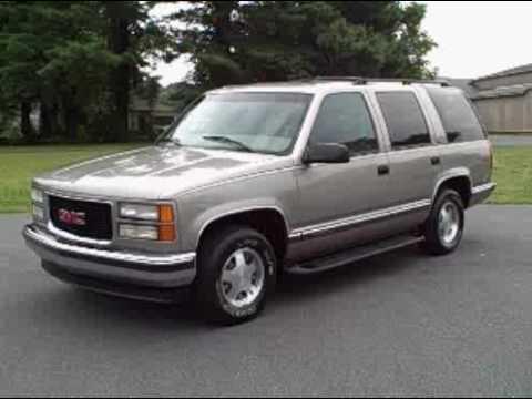 1999 GMC Yukon SLT 2WD