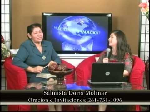 Pastora Angelica Gonzalez en Nacion Tv - Canal 55.3 Houston Texas