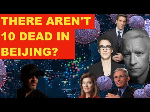 There Aren't 10 Dead in Beijing or Shanghai, Dr. Fauci? Is That True? Johns Hopkins Map Says It