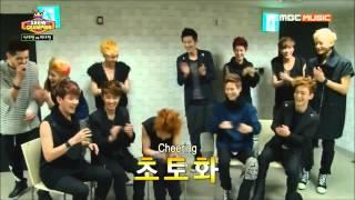 [ENG SUB] 130612 EXO K & EXO M Show Champion Interview