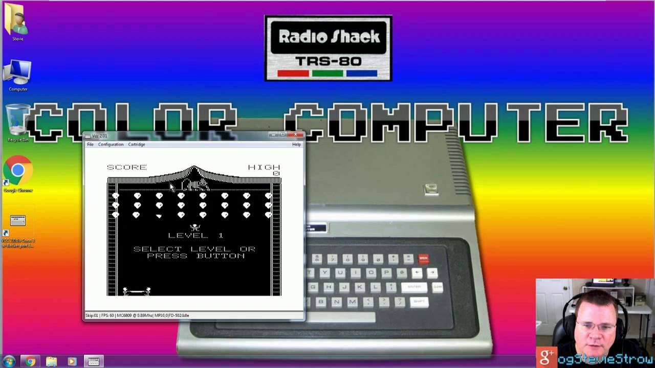 How to install the VCC Color Computer Emulator