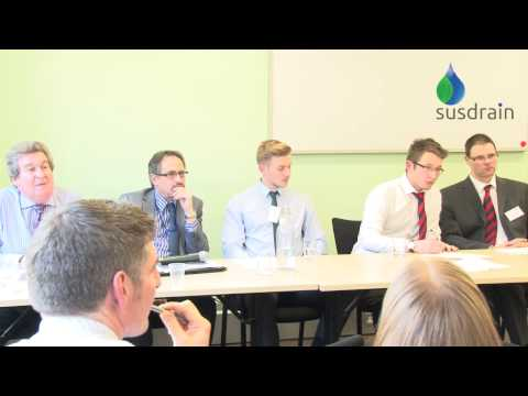 SuDS not duds: Local Authorities and Developers working together - discussion