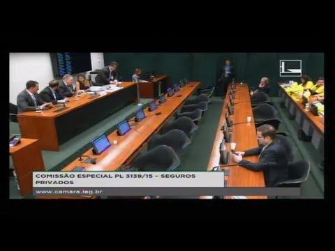 PL 3139/15 - SEGUROS PRIVADOS - Reunião de Instalação e Eleição - 23/08/2017 - 15:13