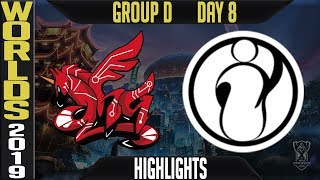 AHQ vs IG Highlights Game 2 | S9 Worlds 2019 Group D Day 8 | AHQ Esports vs Invictus Gaming
