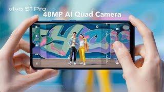 VIVO S1 Pro - 128GB ROM - 8GB RAM - Snapdragon 665 - 48MP Quad AI Camera - Clearly Your Style - Garansi Resmi