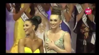 Sự cố khi đăng quang hoa hậu (Incident when crowned Miss)